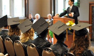 MU High School graduates are offered advice for the future at their graduation ceremony.