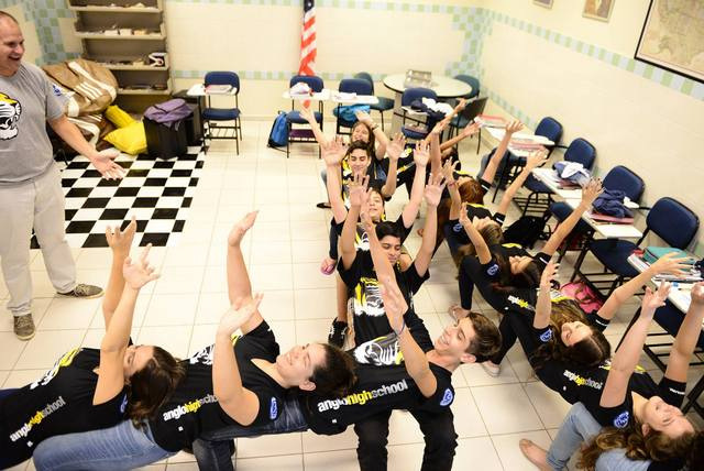 Mizzou K-12 students at Colégio Cassiano Ricardo in São Paulo